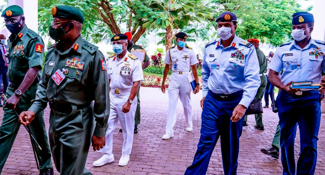 UPDATED: Buhari Nominates Olonisakin, Other Ex-Service Chiefs As Ambassadors