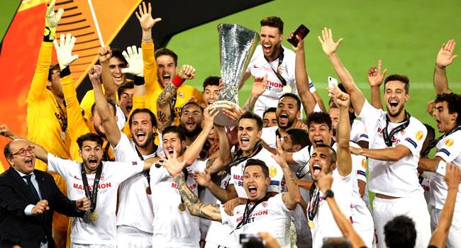 Sevilla Beat Inter To Win Sixth Europa League Trophy