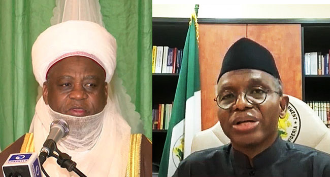 Sultan Of Sokoto Visits El-Rufai Over Southern Kaduna Security Challenges