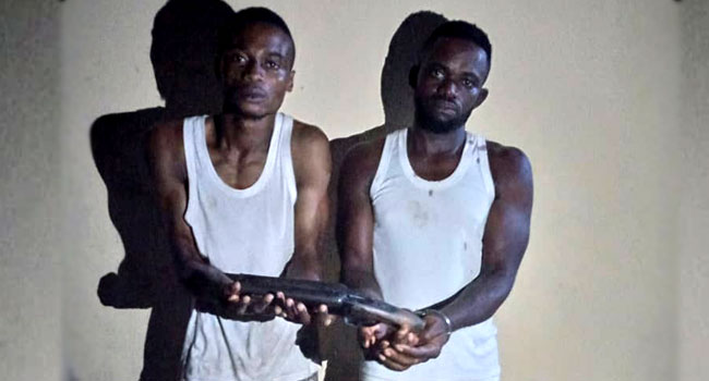 Two Suspects Arrested In Attempt To Commit Robbery