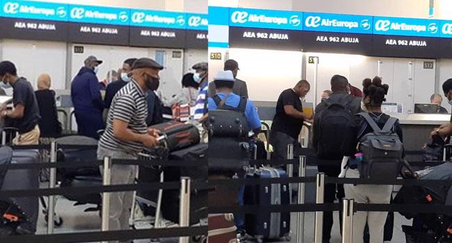 327 Nigerians Set To Return From UK Today, Says NIDCOM