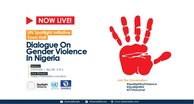 UN Spotlight Initiative Town Hall On Violence Against Women, Girls