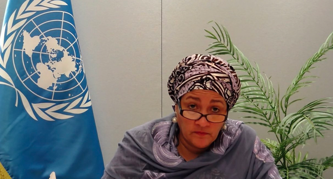 Gender Violence: We Must All Stand Together And Speak Out, Says Amina Mohammed