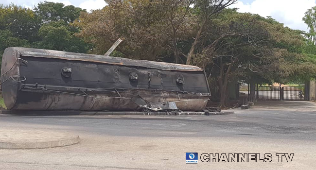 Petrol-Laden Tanker Explodes In Front Of Bauchi Polytechnic