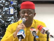 Femi Fani-Kayode held a press conference in Akwa Ibom on August 28, 2020.