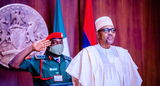 President Muhammadu Buhari inaugurated party consultative committee on August 31, 2020.