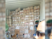 The police, Customs and NDLEA on August 6, 2020, inspected an intercepted container discovered to harbour illegal drugs.