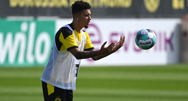 Man Utd Reach Agreement With Dortmund To Sign Sancho