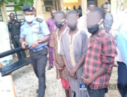 These teenage boys (pictured above) have been accused of gang rape and murder in Katsina.