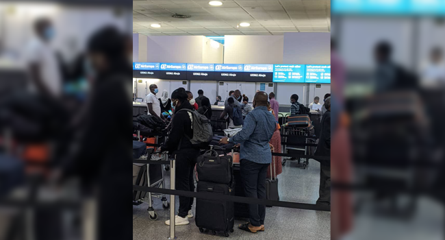 296 More Nigerians Arrive In Abuja From UK