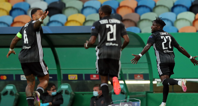 Lyon Stun Manchester City To Set-Up Semi-Final Date With Bayern