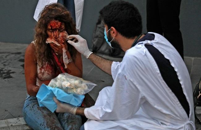 'Armageddon' At Beirut Hospitals After Blast Hurt Medics, Patients Alike