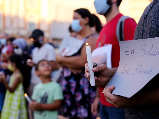 Grief To Anger As Disaster-Hit Beirut Braces For Protests