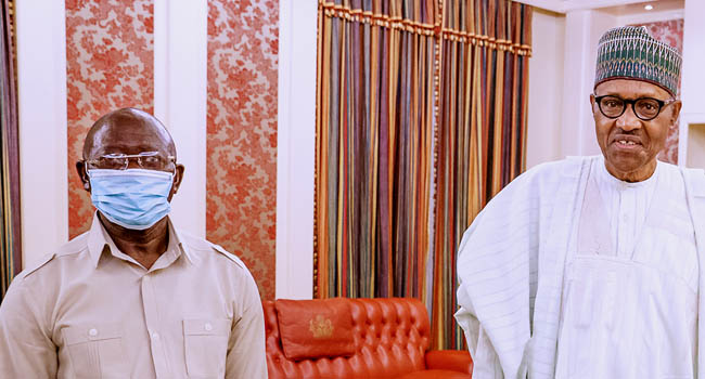 Edo Poll: Buhari Is 'Excited At The Prospect' Of Free, Fair Election – Oshiomhole