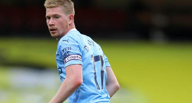 Man City's De Bruyne Wins Premier League Player Of The Season