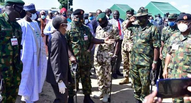 El-Rufai Visits Army Super Camp In Katsina, Seeks More Collaboration