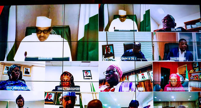PHOTOS: FEC Honours Late Ex-Ministers Olumide, Sam Momah