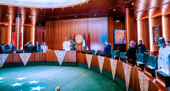 Osinbajo, AGF In Attendance As Buhari Presides Over Virtual FEC Meeting