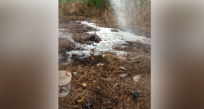 The Lagos State Fire and Rescue Service has announced the leakage of a Petroleum Motor Spirit (PMS) at Iyana- Odo