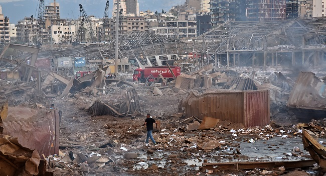 Lebanon Blast: Political Game Changer Or Hollow Blow?