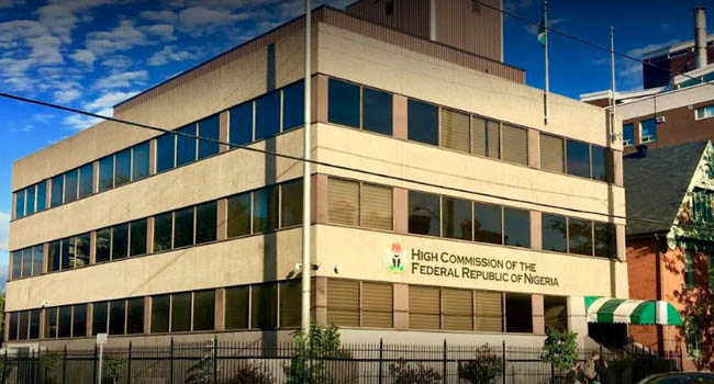Nigerian High Commission Closes Embassy In Canada
