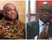 A photo combination created on August 3, 2020, featuring former Niger-Delta state Governors, Orji Kalu and Emmanuel Uduaghan