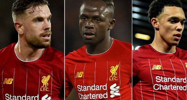 Mane, Two Liverpool Stars Shortlisted For Premier League Player Of The Season