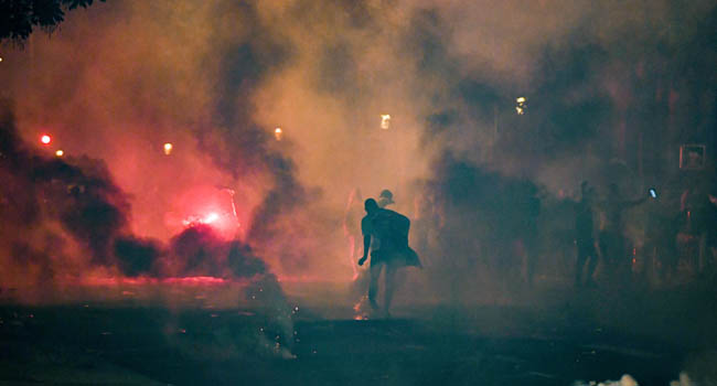 Over 150 Arrested As PSG Fans Riot After Defeat