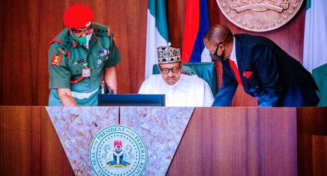 Buhari Orders Overhaul Of Nigeria's Security Apparatus