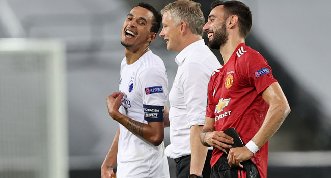 Europa League: Bruno Fernandes' Late Penalty Sends Man United To Semi-Final