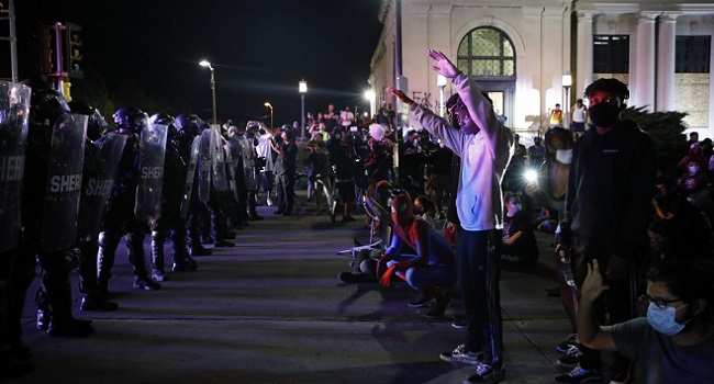 Teenager Arrested Over Deaths In Protest-Hit US City