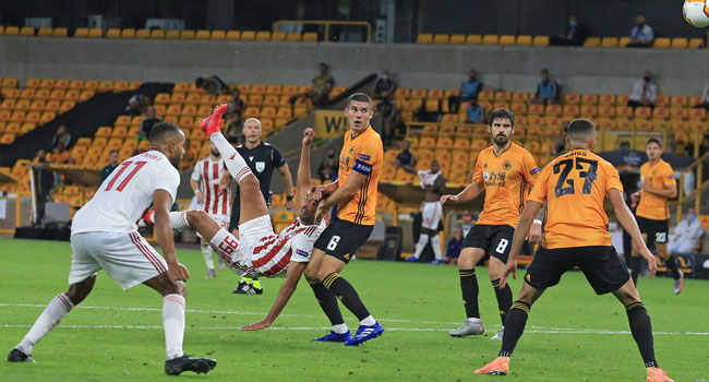 Wolves Reach First European QF In Nearly 50 Years As Sevilla Win Roma