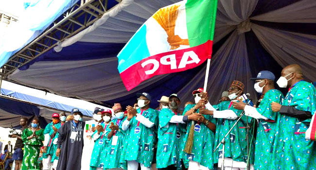 APC Governors Show Up As Akeredolu Flags-Off Re-Election Campaign In Akure
