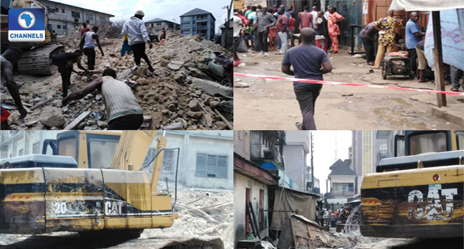 Abia Building Collapse: Death Toll Rises To Four As Rescue Efforts Continue
