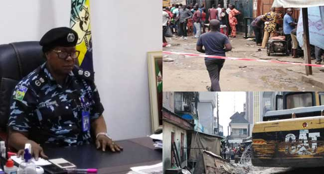 Abia Building Collapse: Police Arrest Project Contractor, Death Toll Rises To Five