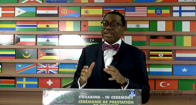 AfDB Will Support Africa With Quality Infrastructure In Healthcare, Manufacturing – Adesina