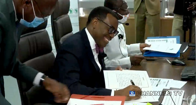 Akinwumi Adesina Sworn-In For Second Term As AfDB President