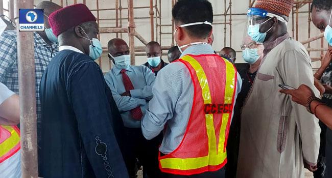 Amaechi Meets Contractors, Inspects Lagos-Ibadan Rail Project