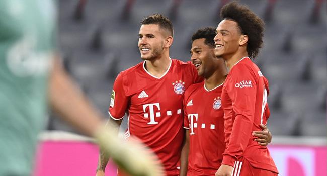 Bayern Munich Thrash Schalke 8-0 In Historic Bundesliga Start