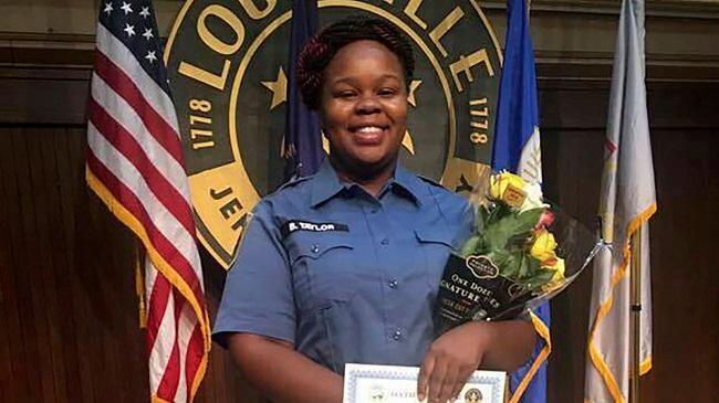 Policeman Charged Over Breonna Taylor Shooting