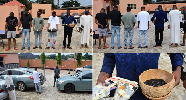 EFCC Arrests Brothers, Three Others For Alleged Internet Fraud In Ibadan