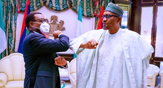 AfDB: Obasanjo Hails Buhari Over Adesina's Re-Election