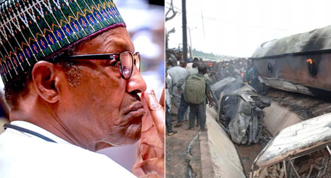 Nigeria fuel truck fire kills 23: president