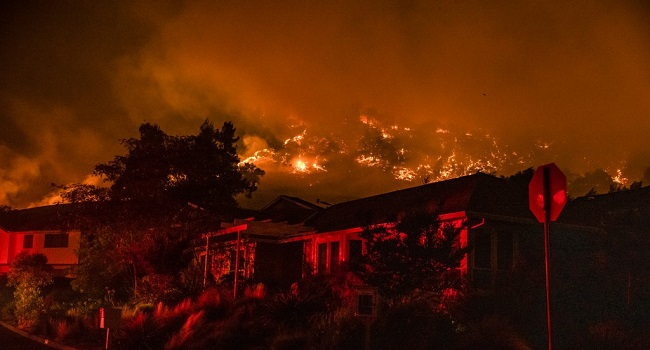 Tens Of Thousands Left Homeless As California Wildfires Ravages Wine Regions – Channels Television