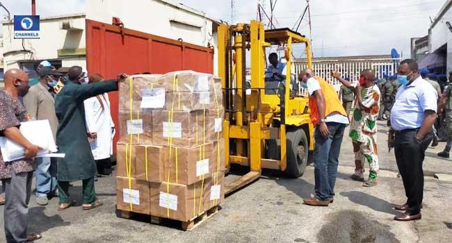 PHOTOS: INEC Distributes Electoral Materials For Edo Poll