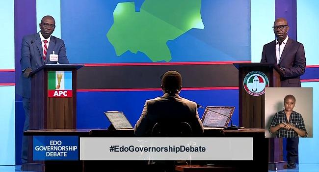 POLL: Who Won Sunday's Edo Governorship Debate?