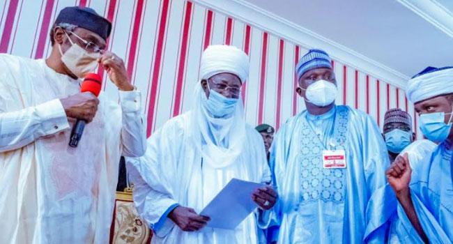 Gbajabiamila Visits Zaria, Describes Late Emir As Man Of Integrity