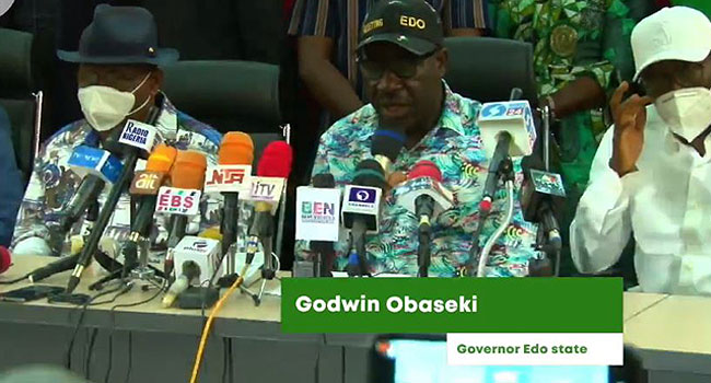 Election: The Great People Of Edo State Have Spoken – Obaseki