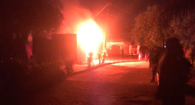 Police Reveal Cause Of Ondo INEC Office Inferno