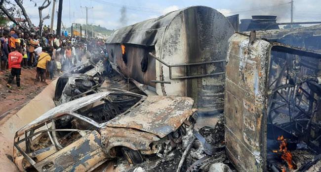 At Least 23 Killed In Lokoja Tanker Explosion